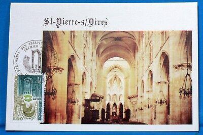 Europa Abtei St Pierre Unter Dives Frankreich Cpa Postkarte Maximum Yt 2040 C Mit Den Modernsten GeräTen Und Techniken