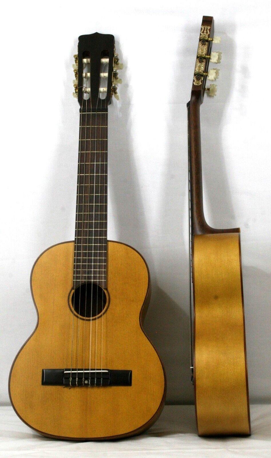 Musikalia Requinto o Guitarrico in acero, per flamenco, di liuteria