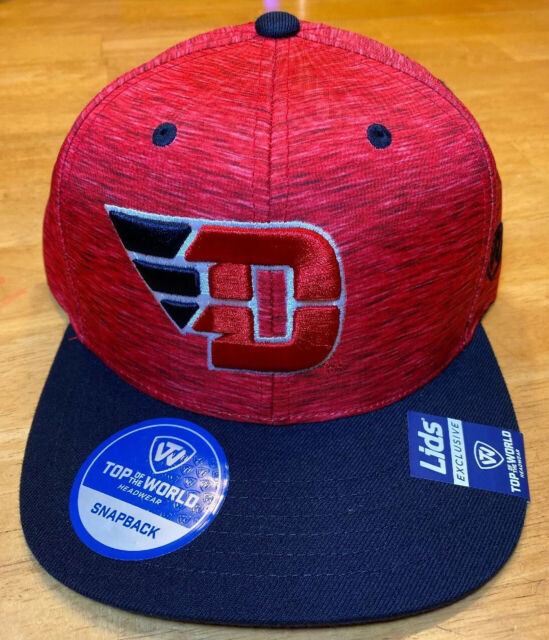 Dayton University UD Flyers NCAA Fitted Flat Bill Baseball Cap Hat