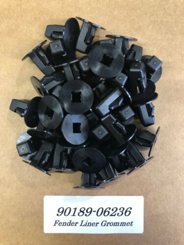 90189-06236 Set of 15 New Fender Liner Screw Grommet For Toyota Part #
