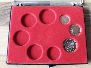 100% De Qualité 1,2,5 Cent Slovénie 2007 + écrin Numismatique