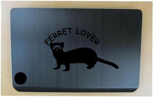 Ferret decal in 9 colors