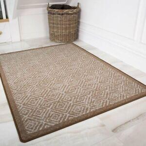 Details About Aztec Geometric Beige Anti Slip Hardwearing Machine Washable Kitchen Mats Runner