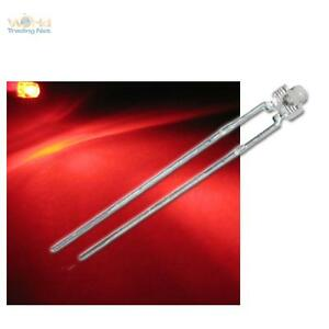 50 diffuse ROTE Leds 5mm 2500 mcd /_ rot red diffus led Leuchtdioden Leuchtdiode