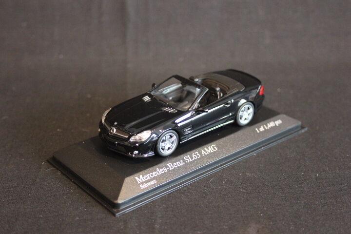Minichamps Mercedes-Benz SL63 AMG (R230) 1 43 black (JS)