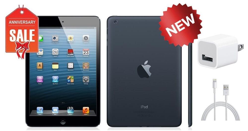 NEW Apple iPad mini 1st Gen 16GB, Wi-Fi + 4G AT&T (UNLOCKED), 7.9in- Black