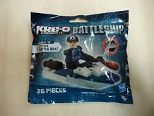 Kre-o Kreo Battleship A0794 Battle Boat 26 pcs. Hasbro 2012 NIP