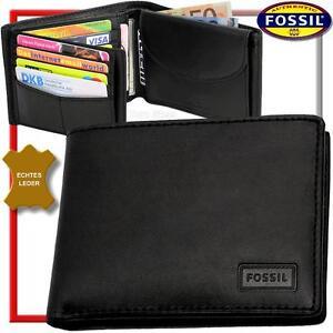 FOSSIL-Herren-Geldbeutel-amp-Dose-Geldboerse-Portemonnaie-Geldtasche-Portmonai-NEU