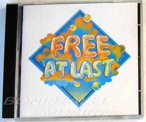 FREE - FREE AT LAST - CD Nuovo Unplayed - Italia - FREE - FREE AT LAST - CD Nuovo Unplayed - Italia