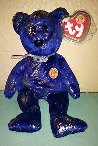 TY Beanie Baby - ASTRA the Bear (BBOM November 2004), RETIRED, w/ tag protector