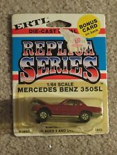 ERTL Die-cast Replica Series Mercedes Benz 350SL 350 SL Red #1892 1:64 MOC 1981