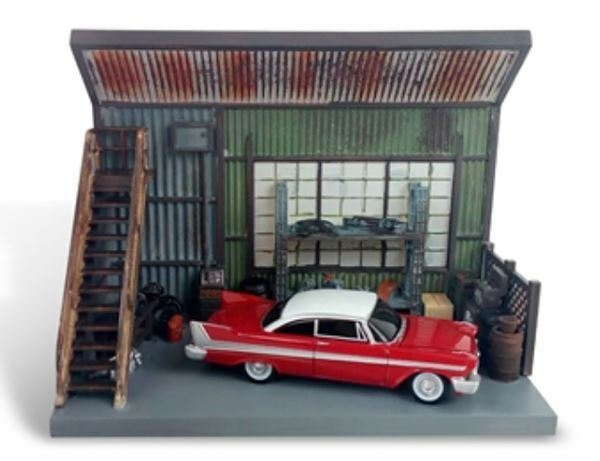 AUTO WORLD 1 64 SCALE SCALE SCALE DARNELL'S GARAGE DIORAMA MODEL   BN   AWSD001 ba3c82