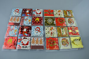 48-Christmas-Hand-Crafted-Gift-Tags-Self-Adhesive-Sticker-present-gift-Xmas