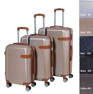 Taschen Reisen GüNstig Einkaufen Reisekoffer Xh102 Koffer Trolley Hartschalenkoffer Handgepäck 4rollen M-l-xl-set