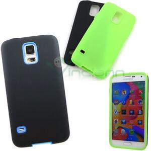 Pellicola-Custodia-Double-rigida-silicone-pr-Samsung-Galaxy-S5-G900F-neo-G903F