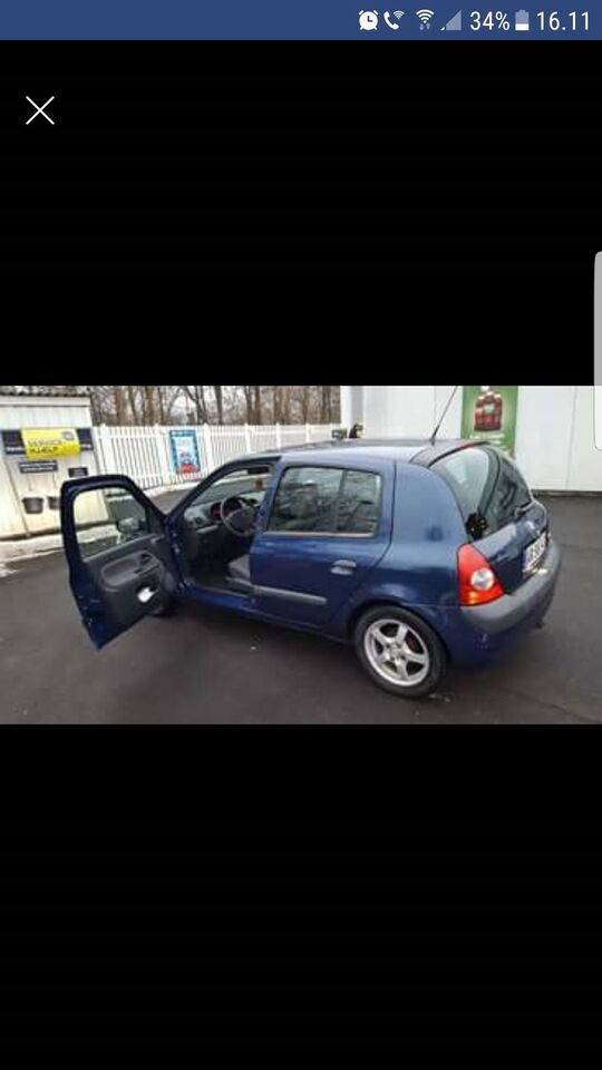 Renault Clio II, 1,2 8V Authentique, Benzin