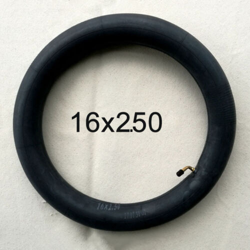 16x2.125//16x2.50 16 Inch Inner Tube With Angled Valve Spare Inner Tube