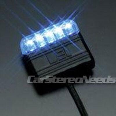 new directed dei 629l blue scanning led light 4 car alarm viper clifford python 93207629129 ebay viper remote start viper electro luminescent logo badge