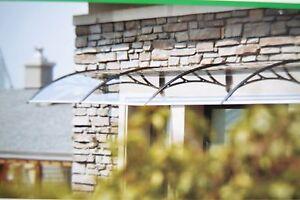 HaustÜr Fenster Vordach Markise TÜrvordach Pultvordach Überdachung 200 X 60cm Vordächer