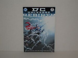 DC-Universe-Rebirth-2016-1A-NM-NM-or-9-4-9-6-1st-Print-Sold-Out