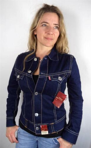 Womens Faded 6 8 Vtg New Jacket Fitted Levis Denim Xs rgqxT1rS