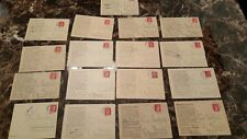 17 Cover Correspondence Germany Auschwitz Concentration Camp 1943-45 to Krakau