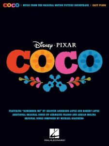 DISNEY-PIXAR-COCO-Soundtrack-Easy-Piano-Book-NEW-Music