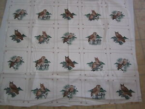Vintage Picture Book Patches Quilting Fabric Squares