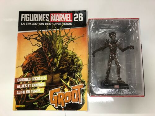 groot  figurine marvel collection des super-héros panini fascicule neuf