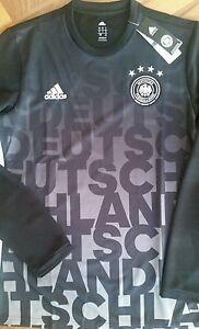 Adidas-Dfb-pre-Match-Trikot-Deutschland-langarm-selten-gr-M
