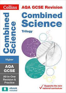 Aqa gcse combined science trilogy higher all in one revision and stock photo fandeluxe Images