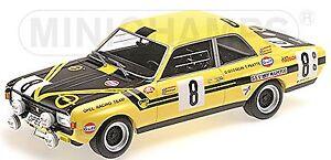 Opel-Commodore-A-Steinmetz-24h-Spa-1970-8-Pilette-Gosselin-1-18-Mini-champion