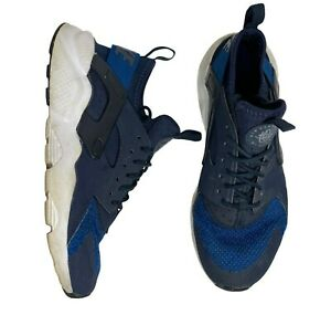 Nike-Youth-Huarache-Run-GS-Size-5-5Y-Royal-Blue-Dark-Blue-White-942121-400