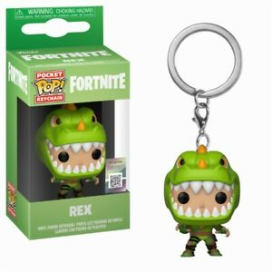 Fortnite Battle Royale Rex Pocket Pop! Keychain Porte Clés Funko-ger Funko Fr-fr Afficher Le Titre D'origine