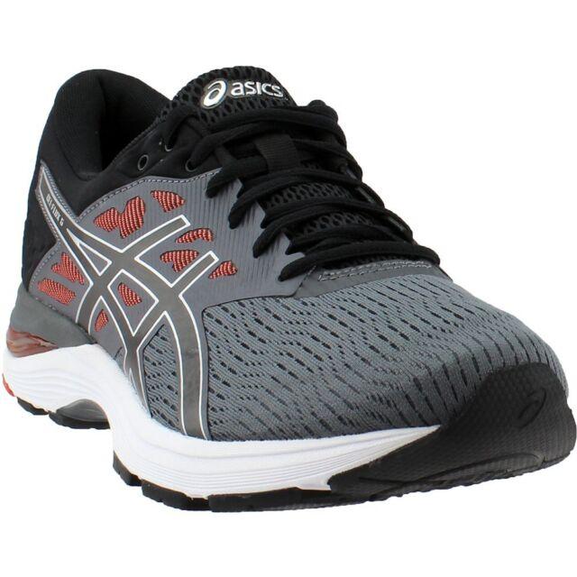 ASICS GEL-FLUX 5 Men's Running Shoes - Carbon/Black/Cherry Tomato, US 12