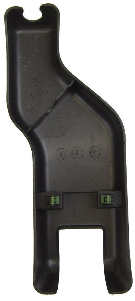 2008-2009 Hummer H2 Rear Bucket Seat Track Cover LH New OEM Black 25813805 15181