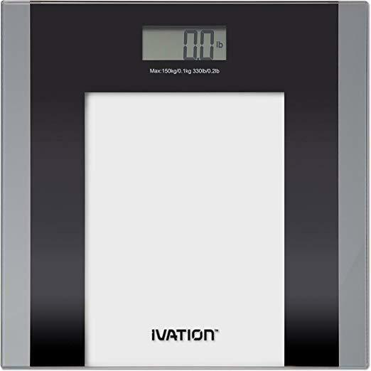 Digital Kitchen Food Scale 9mm Ultra Thin With Hanger Stainless Steel Silver
