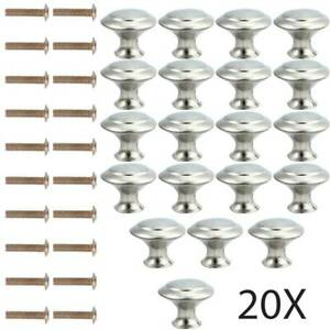 20x-Door-Knob-Cabinet-Handles-Cupboard-Drawer-Kitchen-Stainless-Steel-DIY-Silver