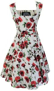 Hearts-amp-Roses-50s-Ditsy-Rose-Floral-Swing-Jive-Dress