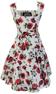 Hearts-amp-Roses-50s-Ditsy-Rose-Floral-Swing-Jive-Dress