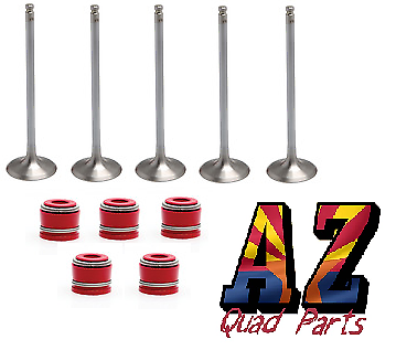 Yamaha YFZ450R YFZ 450R Replacement Kibblewhite Intake Exhaust Valves Seals Kit