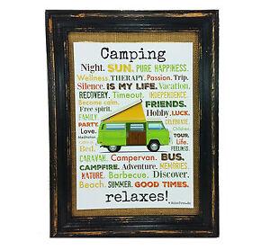 Camping-relaxes-Druck-Poster-A4-Bus-Camper-Caravan-gift-AnneSvea-Typo-Deko-Womo