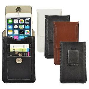 Cell-Phone-Leather-Pouch-Card-Holder-Purese-Case-Belt-Clip-For-iPhone-11-Pro-Max
