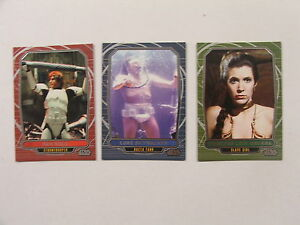 Star-Wars-Galactic-Files-Series-2-Complete-3-Card-Variant-Chase-Set-NM