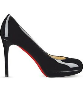 83f5869b905 Image is loading Christian-Louboutin-New-Simple-Pump-120-Patent-Heels-