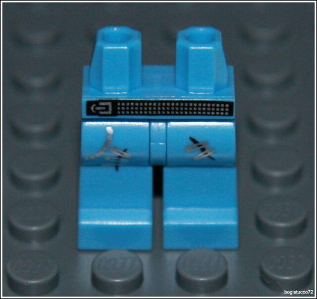 Lego City x1 Blue Jeans Legs Pants Belt Pocket Punk Boy Girl Minifigure NEW
