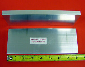 2-Pieces-5-8-034-X-4-034-ALUMINUM-6061-FLAT-BAR-8-034-long-Solid-T6-PLATE-NEW-Mill-Stock