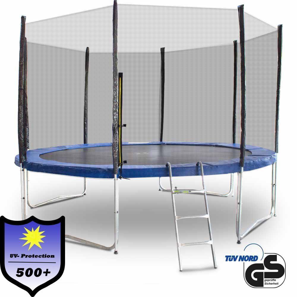 Outdoor Trampolin 370 366 Gartentrampolin Fitness 3 70m Komplettset für Garten