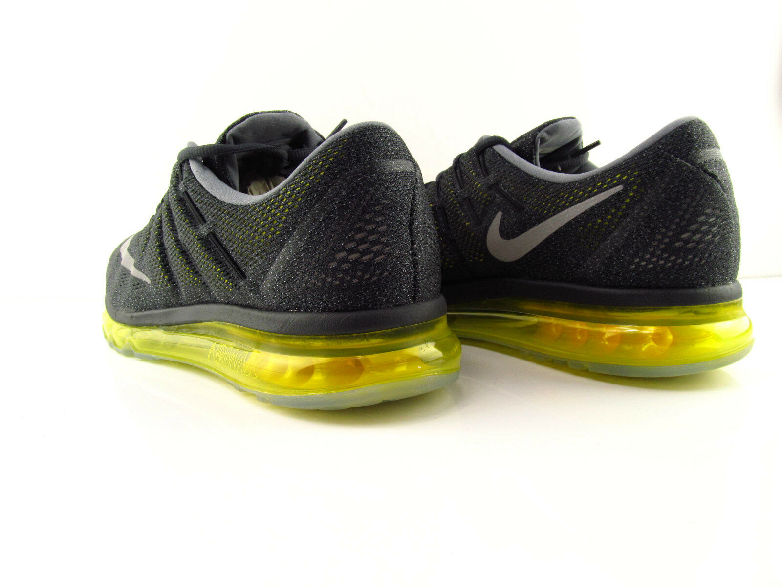 Nike Air Max 2016 Anthracite Reflect Silver Yellow Yellow Yellow Running New US_6.5 Eur 39 64a7b0