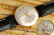 Schöne, elegante POLJOT soviet Uhr. USSR vintage goldfilled dress watch. Auction